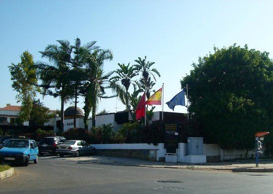 Rabat Old Town: Rabat Ville, Casa de España en Rabat, distrito de Rommani