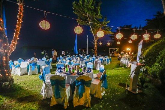 Nora Buri Resort & Spa: Wedding setup