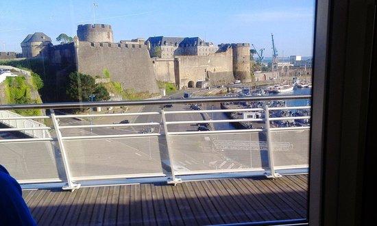 Tour de la Motte Tanguy: Brest 古堡