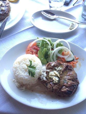O Marisco: My yummy filet steak :)