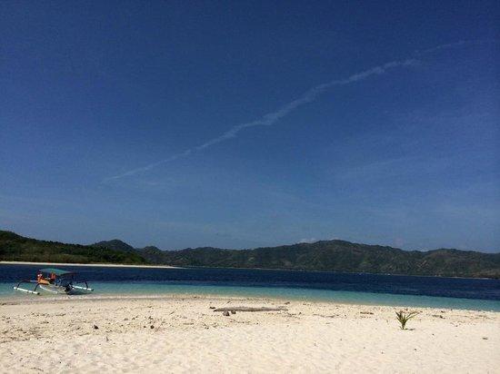 Cocotinos Sekotong, Boutique Beach Resort & Spa : gili nanggu