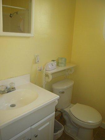Americas Best Value Inn & Suites - Royal Carriage: Salle de bain