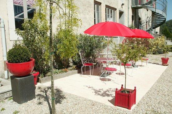 Comptoir du Ranc de Bannes : terrasse