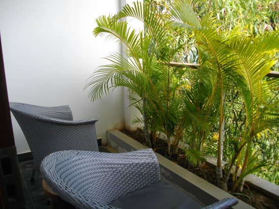 The Plantation - urban resort & spa: Private balcony