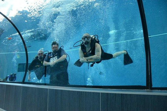 Y-40 The Deep Joy: Diving with two of my PADI EMEA colleagues