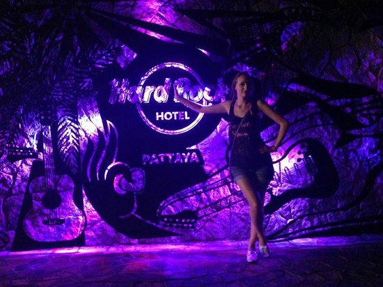 Hard Rock Hotel Pattaya: на территории отеля