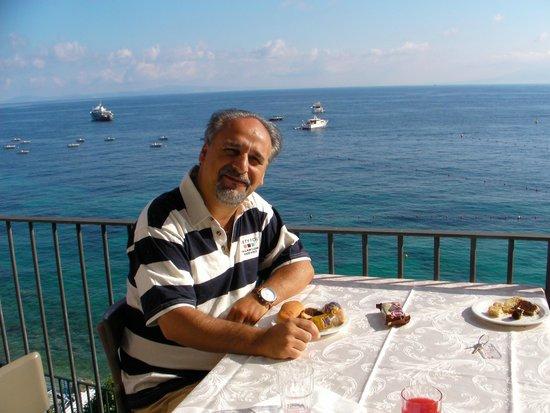 Hotel Belvedere & Tre Re: colazione sul terrazzo