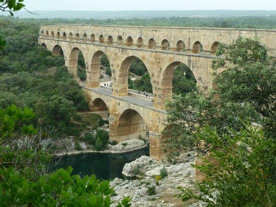 Le Mas d'Emma : Le pont du Gard