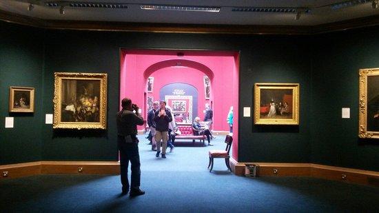 Scottish National Gallery: Interior da galeria.