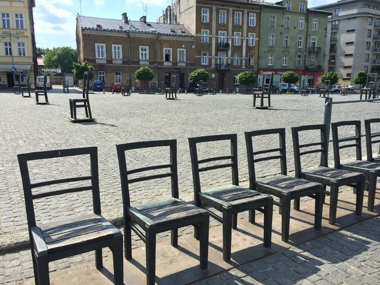 Cracovie : place Bohaterow