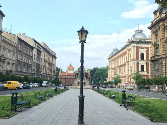 Cracovie : vieille ville