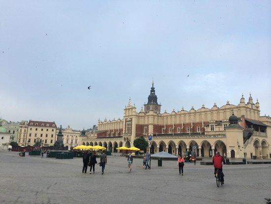 Cracovia: rynek vieille ville