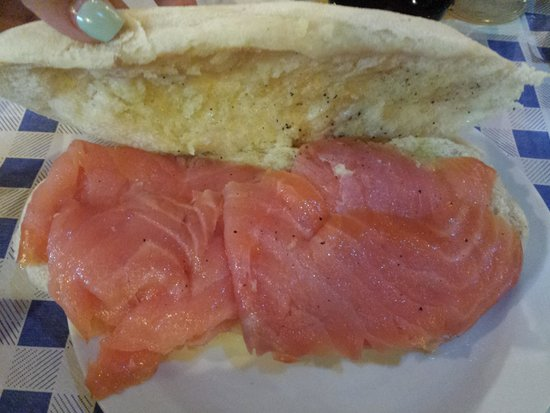 Solleòne : salmone