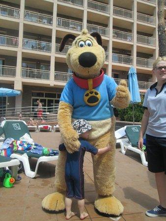Family Life Avenida Suites: thomson the dog