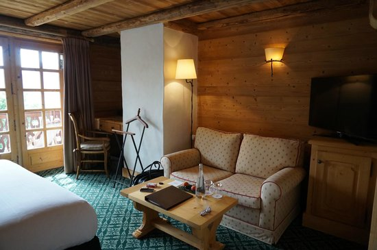 Chalet du Mont d'Arbois : chambre