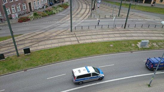 Motel One Rostock: Zimmeraussicht