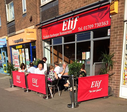 Elif Turkish Barbecue Restaurant: Nice sunny day at Elif