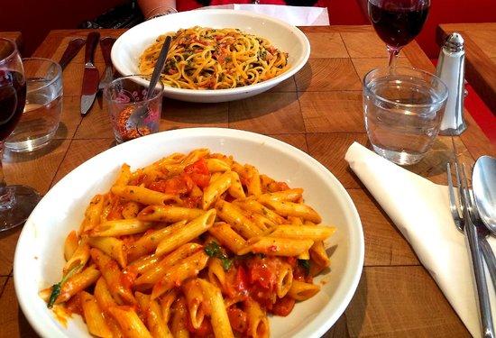 Little Italy Caffe : 2 main courses...