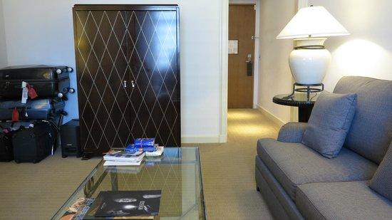 Sofitel New York : Vue de l'intérieur de la suite 2905
