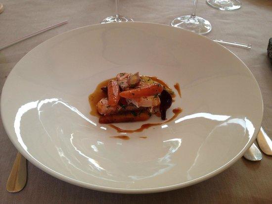 Chalet du Mont d'Arbois : repas