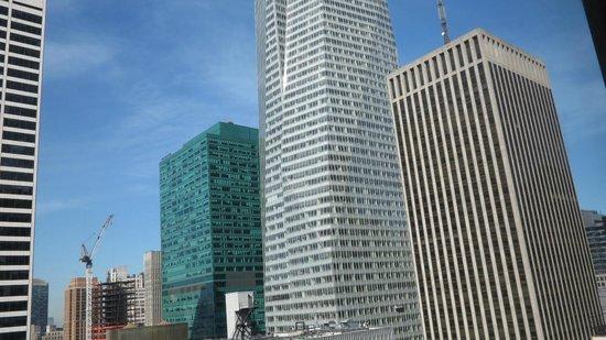 Sofitel New York: Vue depuis une des fenêtres de la suite 2905