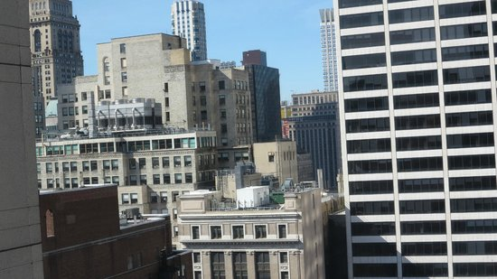 Sofitel New York : Vue depuis une des fenêtres de la suite 2905