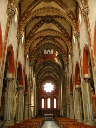 Interno Foto Di Basilica Di Sant 39 Andrea Vercelli