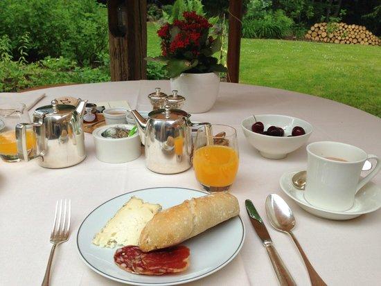 Chalet du Mont d'Arbois : petit déjeuner