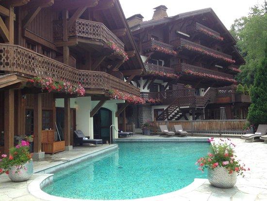 Chalet du Mont d'Arbois : espace SPA