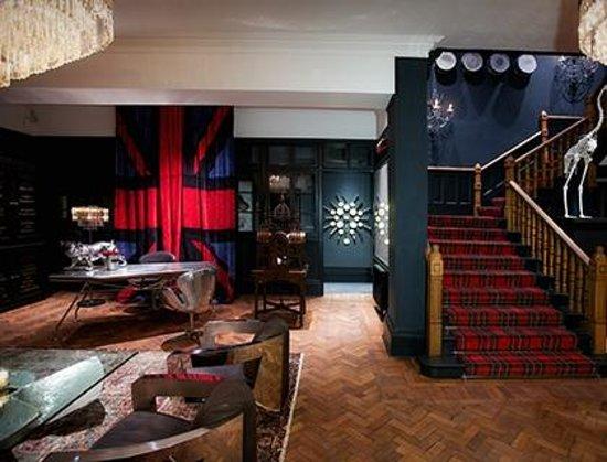 Glazebrook House Hotel: Lobby