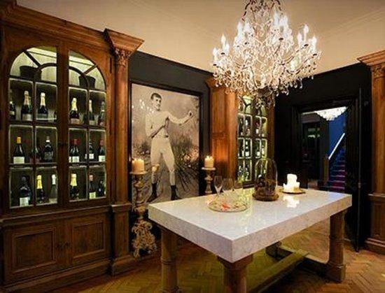 Glazebrook House Hotel: Tasting room