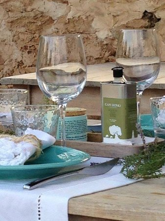 Agroturismo Can Domo : Can Domo produces a high-quality olive oil