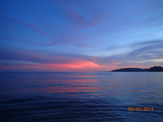 Ban Sainai Resort: Beautiful sunset..