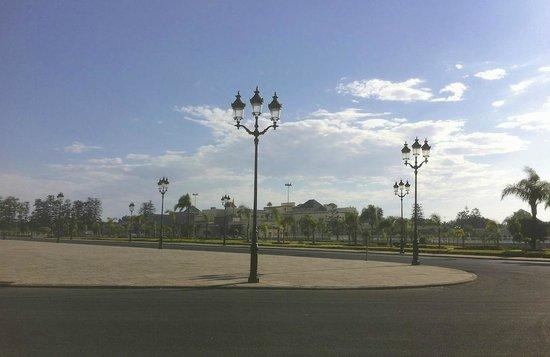 Royal Palace of Rabat: Le Mechouar, Palacio Real