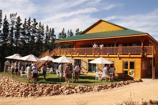 Mofam River Lodge : View of our Conference/Wedding venue and Restuarant
