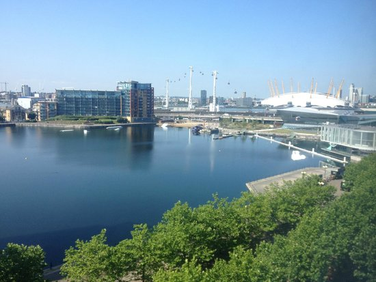 Crowne Plaza London - Docklands: view from our window