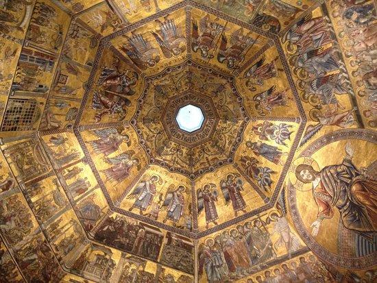 Baptistery of San Giovanni (Battistero) : la cupola