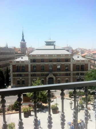 Intur Palacio San Martin: View from balcony