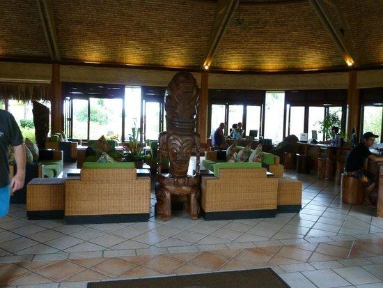 InterContinental Moorea Resort & Spa: recepción