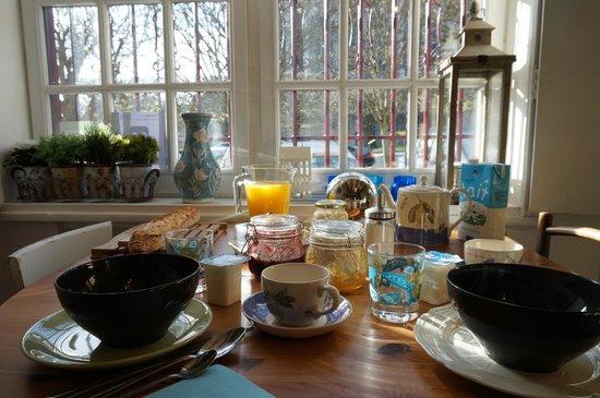 La Villa Saint Pierre: petit déjeuner