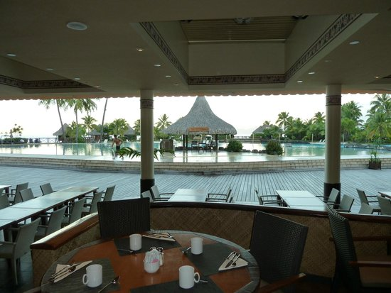 InterContinental Tahiti Resort & Spa: comedor