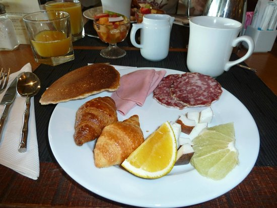 InterContinental Tahiti Resort & Spa : desayuno