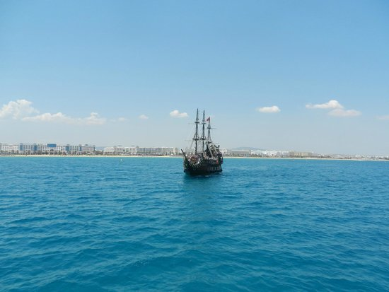 Yasmin Hammamet : One of the 4 pirate ships