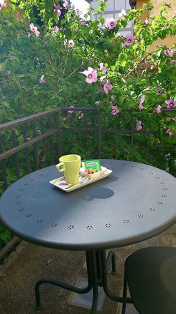 Il Giardino della Melagrana: momento relax sul balcone!