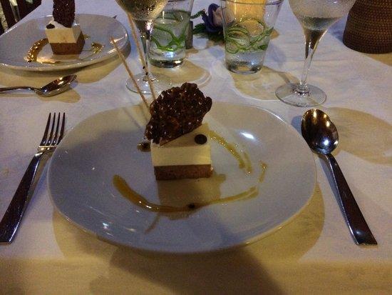 Le Duc de Praslin : Half-board menu (dessert)