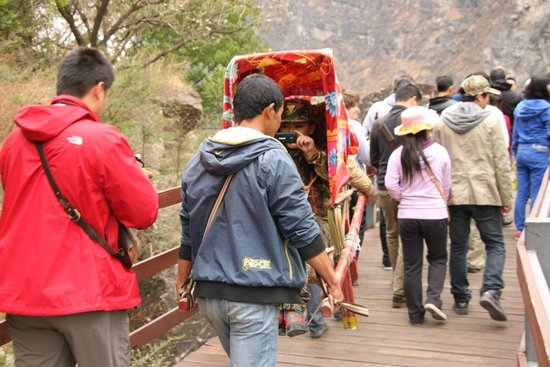 Tiger Leaping Gorge (Hutiao Xia): Местное такси