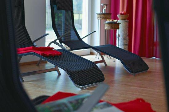 Hotel Zur Schanz: Ruheraum zum Entspannen nach Sport oder Sauna