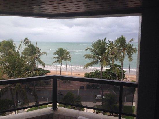 Maceio Atlantic Suites: Vista da varanda lateral