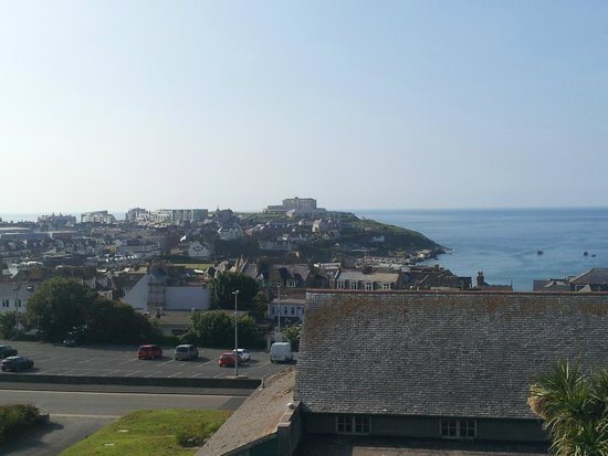 Priory Lodge Hotel: Sea view