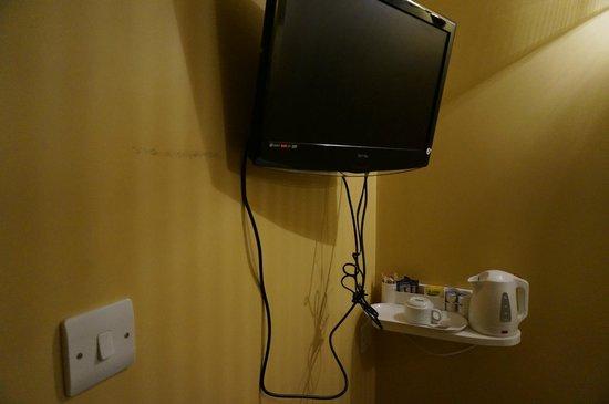 Rose Park Hotel: И телевизор